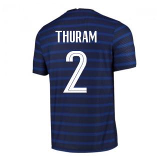 2020-2021 France Home Nike Vapor Match Shirt (THURAM 2)
