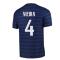 2020-2021 France Home Nike Vapor Match Shirt (VIEIRA 4)