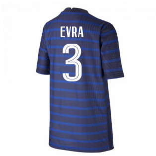 2020-2021 France Home Nike Vapor Shirt (Kids) (EVRA 3)