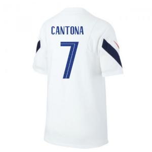 2020-2021 France Nike Training Shirt (White) (CANTONA 7)