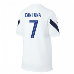 2020-2021 France Nike Training Shirt (White) (CANTONA 7)
