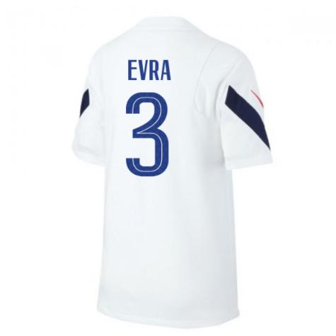 2020-2021 France Nike Training Shirt (White) (EVRA 3)
