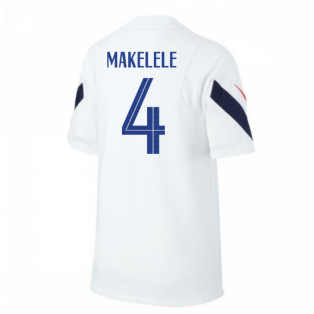 2020-2021 France Nike Training Shirt (White) - Kids (MAKELELE 4)