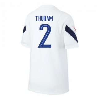 2020-2021 France Nike Training Shirt (White) - Kids (THURAM 2)