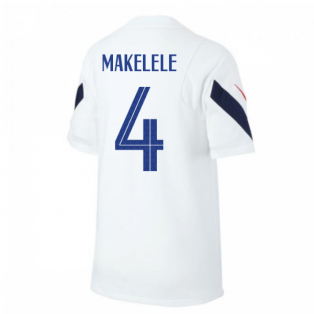 2020-2021 France Nike Training Shirt (White) (MAKELELE 4)
