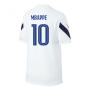 2020-2021 France Nike Training Shirt (White) (MBAPPE 10)