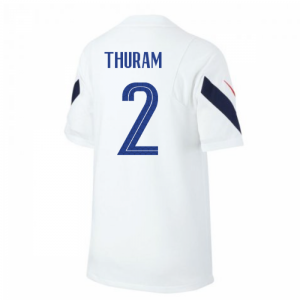 2020-2021 France Nike Training Shirt (White) (THURAM 2)