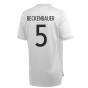 2020-2021 Germany Adidas Training Shirt (Grey) (BECKENBAUER 5)