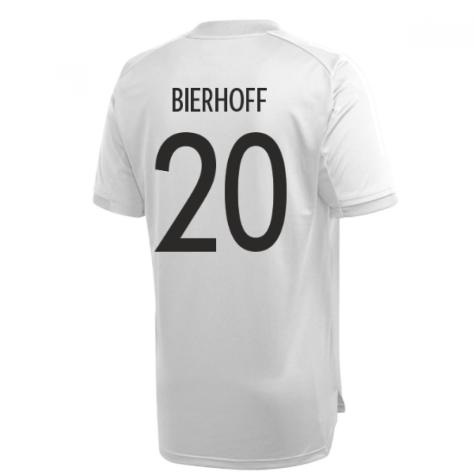 2020-2021 Germany Adidas Training Shirt (Grey) (BIERHOFF 20)
