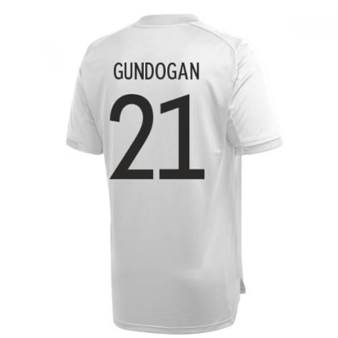 2020-2021 Germany Adidas Training Shirt (Grey) (GUNDOGAN 21)