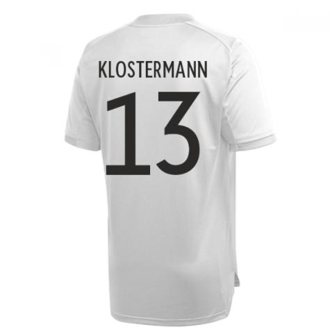 2020-2021 Germany Adidas Training Shirt (Grey) (KLOSTERMANN 13)