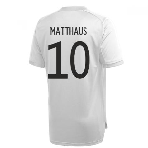 2020-2021 Germany Adidas Training Shirt (Grey) (MATTHAUS 10)