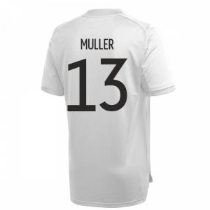 2020-2021 Germany Adidas Training Shirt (Grey) (MULLER 13)