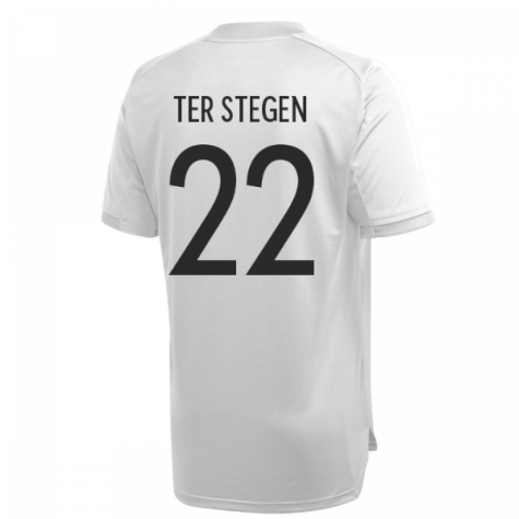 2020-2021 Germany Adidas Training Shirt (Grey) (TER STEGEN 22)
