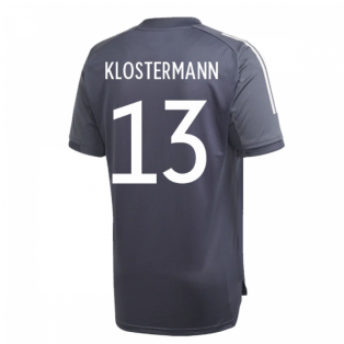 2020-2021 Germany Adidas Training Shirt (Onix) (KLOSTERMANN 13)