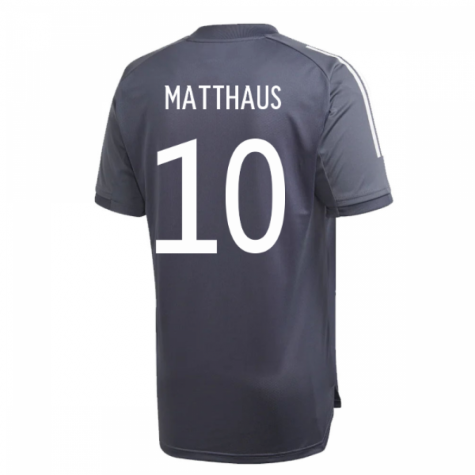 2020-2021 Germany Adidas Training Shirt (Onix) (MATTHAUS 10)