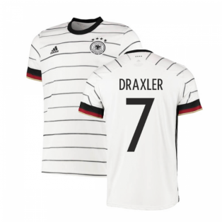 2020-2021 Germany Authentic Home Adidas Football Shirt (DRAXLER 7)