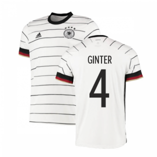 2020-2021 Germany Authentic Home Adidas Football Shirt (GINTER 4)