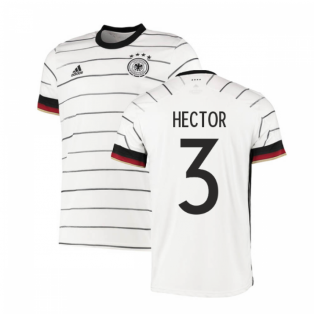 2020-2021 Germany Authentic Home Adidas Football Shirt (HECTOR 3)