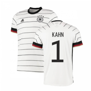 2020-2021 Germany Authentic Home Adidas Football Shirt (KAHN 1)