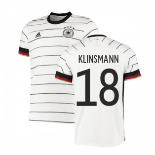 2020-2021 Germany Authentic Home Adidas Football Shirt (KLINSMANN 18)