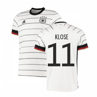 2020-2021 Germany Authentic Home Adidas Football Shirt (KLOSE 11)