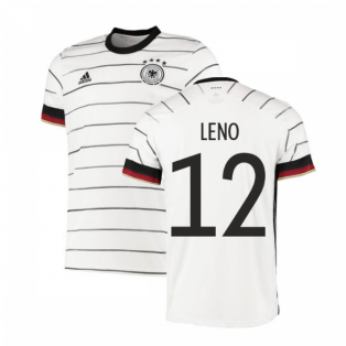 2020-2021 Germany Authentic Home Adidas Football Shirt (LENO 12)