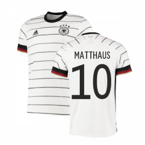 2020-2021 Germany Authentic Home Adidas Football Shirt (MATTHAUS 10)