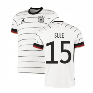 2020-2021 Germany Authentic Home Adidas Football Shirt (SULE 15)