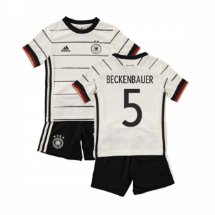 2020-2021 Germany Home Adidas Baby Kit (BECKENBAUER 5)