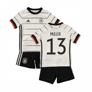 2020-2021 Germany Home Adidas Baby Kit (MULLER 13)
