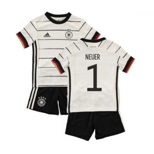 2020-2021 Germany Home Adidas Baby Kit (NEUER 1)