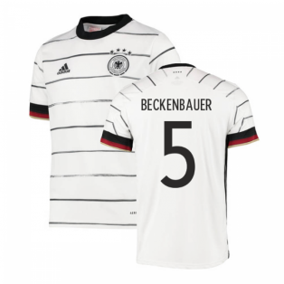 2020-2021 Germany Home Adidas Football Shirt (Kids) (BECKENBAUER 5)