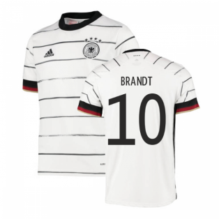 2020-2021 Germany Home Adidas Football Shirt (Kids) (BRANDT 10)