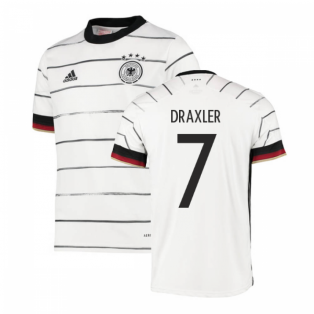 2020-2021 Germany Home Adidas Football Shirt (Kids) (DRAXLER 7)
