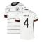 2020-2021 Germany Home Adidas Football Shirt (Kids) (GINTER 4)