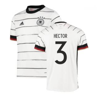2020-2021 Germany Home Adidas Football Shirt (Kids) (HECTOR 3)