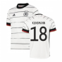 2020-2021 Germany Home Adidas Football Shirt (Kids) (KLINSMANN 18)