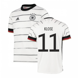 2020-2021 Germany Home Adidas Football Shirt (Kids) (KLOSE 11)