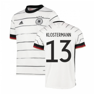 2020-2021 Germany Home Adidas Football Shirt (Kids) (KLOSTERMANN 13)