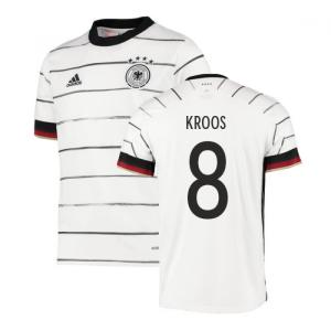 2020-2021 Germany Home Adidas Football Shirt (Kids) (KROOS 8)
