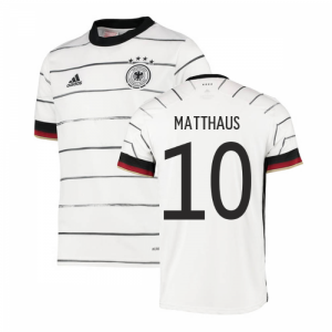 2020-2021 Germany Home Adidas Football Shirt (Kids) (MATTHAUS 10)