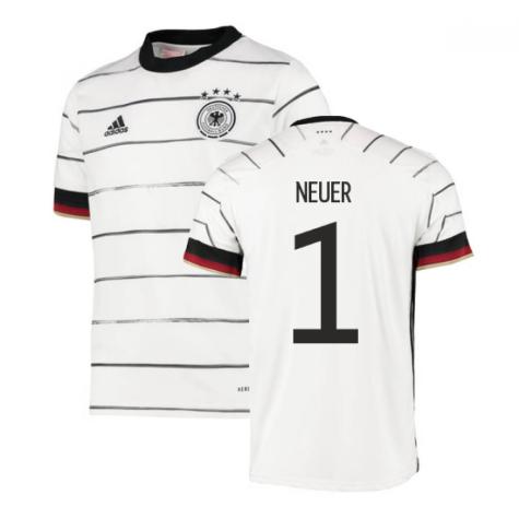 2020-2021 Germany Home Adidas Football Shirt (Kids) (NEUER 1)