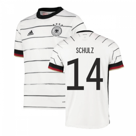 2020-2021 Germany Home Adidas Football Shirt (Kids) (SCHULZ 14)