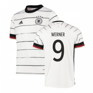 2020-2021 Germany Home Adidas Football Shirt (Kids) (WERNER 9)