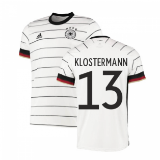 2020-2021 Germany Home Adidas Football Shirt (KLOSTERMANN 13)