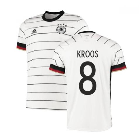 2020-2021 Germany Home Adidas Football Shirt (KROOS 8)