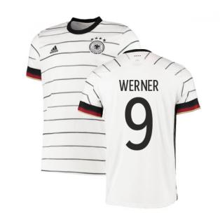 2020-2021 Germany Home Adidas Football Shirt (WERNER 9)