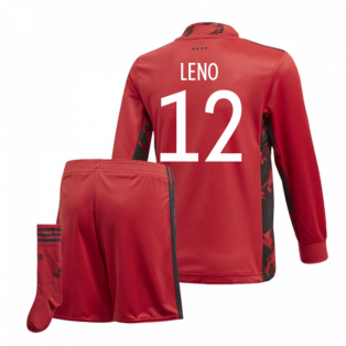 2020-2021 Germany Home Adidas Goalkeeper Mini Kit (Leno 12)