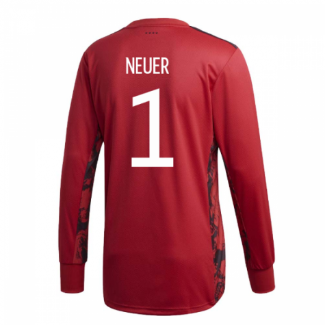 2020-2021 Germany Home Adidas Goalkeeper Shirt (Kids) (Neuer 1)